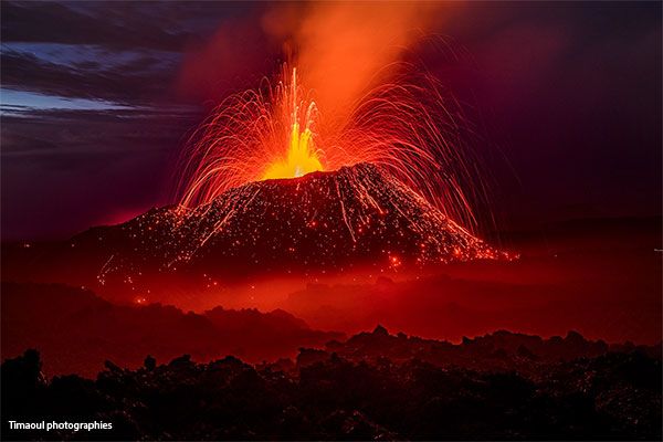 volcan réunion 2016