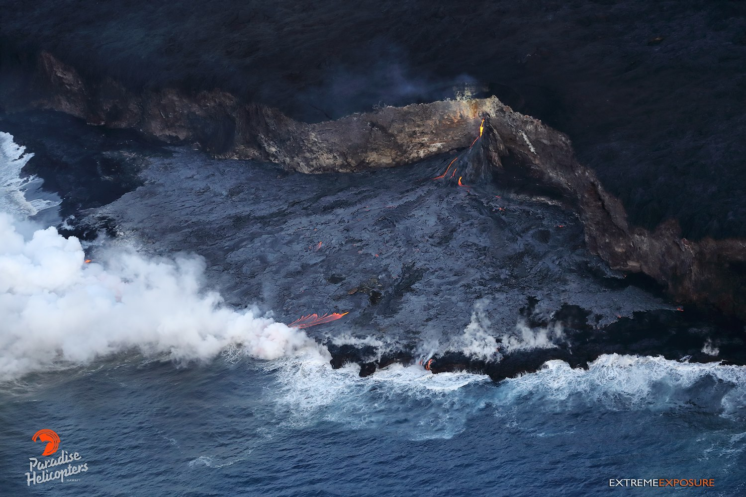 a overview of kilauea active volcanic crates A treacherous lava flow erupting from the kilauea volcano on hawaii's big  is  one of the most active volcanoes in the world — and it has been.