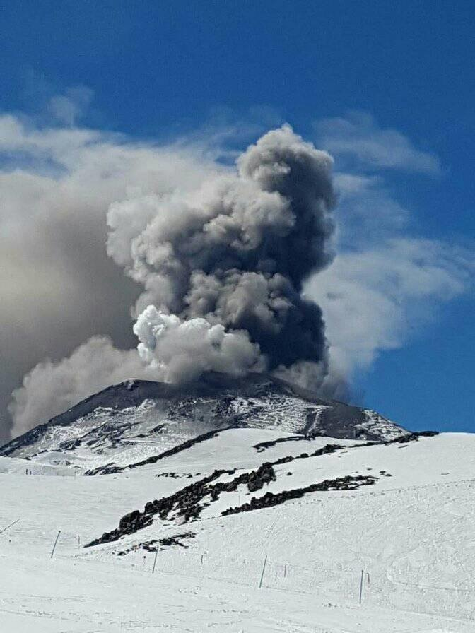 volcano eruption today