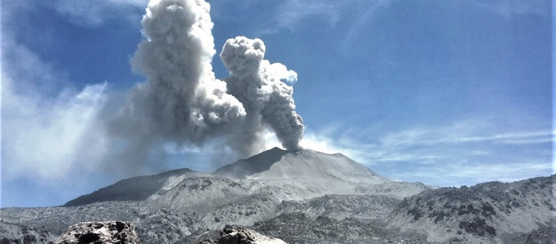 22 Janvier 2019 . FR. Perou : Sabancaya , Colombie : Nevado del Ruiz , Indonésie : Agung , Philippines : Bulusan , Archipel du Vanuatu : Ambae .