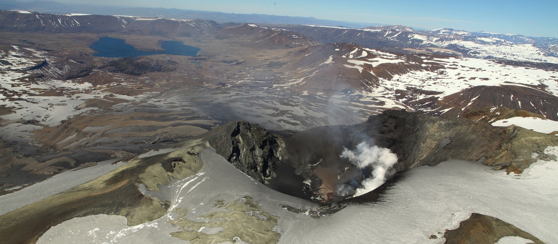 November 16 , 2018.  EN. Colombia : Galeras , Chile : Copahue , Vanuatu Archipelago : Ambae , Indonesia : Anak Krakatau , Guatemala : Fuego .