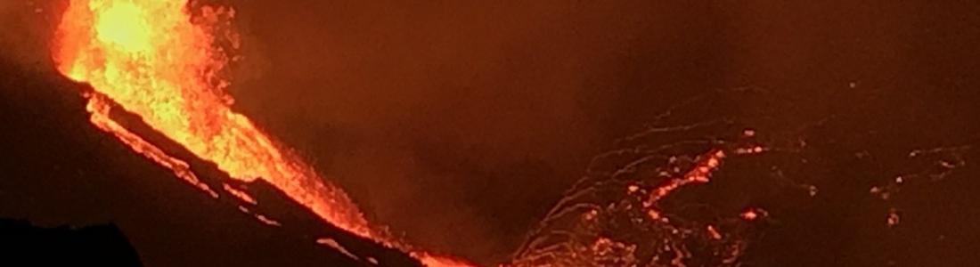 22 Décembre 2020. FR . Hawaii : Kilauea , Kamchatka : Sheveluch , Italie / Sicile : Etna , Pérou : Sabancaya .