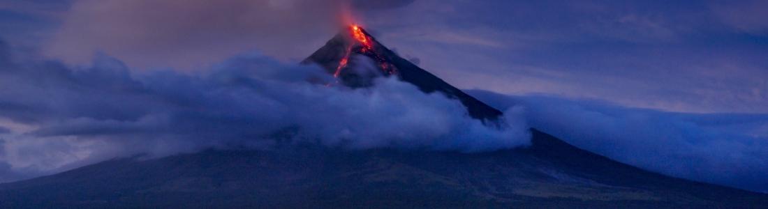 03 Fevrier 2018. FR. Mayon , Kilauea , San Miguel ( Chaparrastique ) , Yellowstone , Ibu .