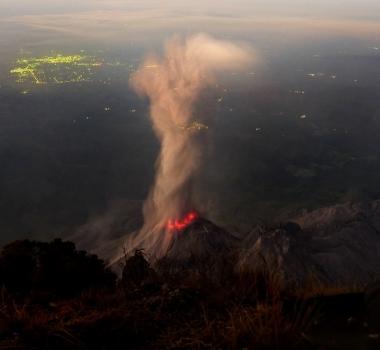 December 04 , 2016. EN.  Misti , Cayambe , Santiaguito , California Volcanoes .
