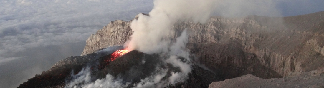 November 27, 2015. EN.  Papandayan, Semeru , Fuego.