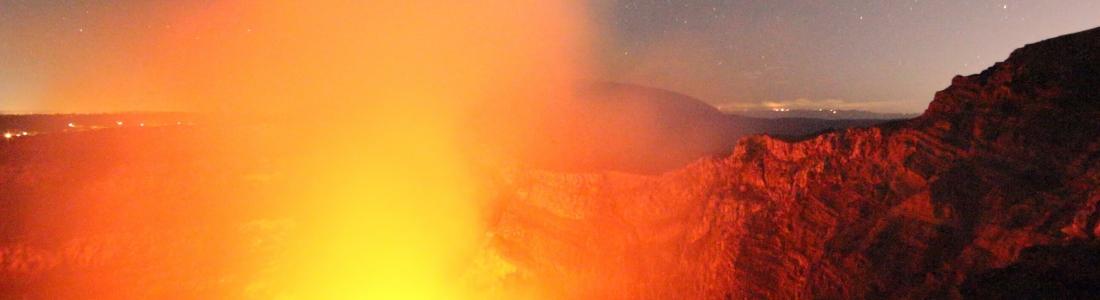 January 21 , 2016.  EN. Fuego , Masaya , Karangetang .