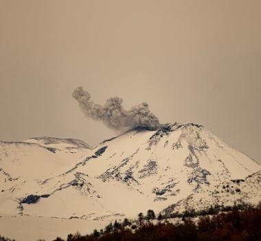 August 25 , 2020. EN. Argentina / Chile : Nevados of Chillan , Indonesia : Sinabung , Ecuador : Sangay , Peru : Sabancaya , Peru : Ubinas .