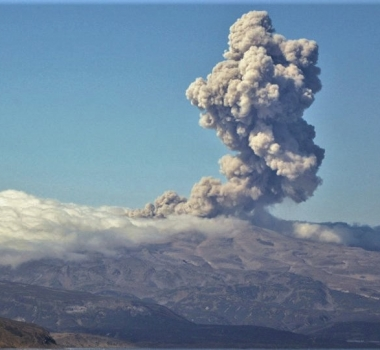 February 20, 2020. EN . Russia / Kurile Islands : Ebeko , Mexico : Popocatepetl , Japan : Nishinoshima , Indonesia : Ibu , Ecuador : Tungurahua .