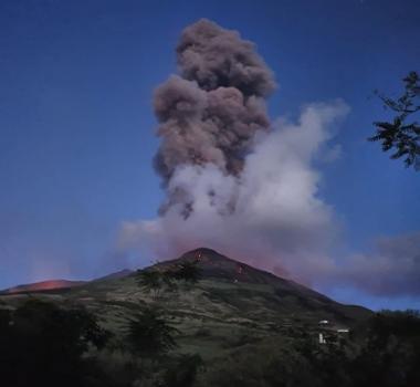July 20, 2020. EN. Italy : Stromboli , Iceland : Reykjanes Peninsula , Indonesia : Raung , Ecuador : Sangay , Guatemala : Pacaya .