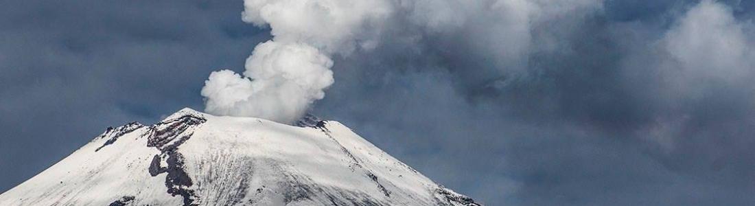 December 15, 2015. EN. Tungurahua , Reventador , Popocatepetl .