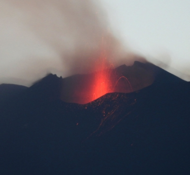 July 23, 2020. EN . Italy / Sicily : Etna , Japan : Nishinoshima , Kadovar : Papua New Guinea , Ecuador : Reventador , Guatemala : Pacaya .
