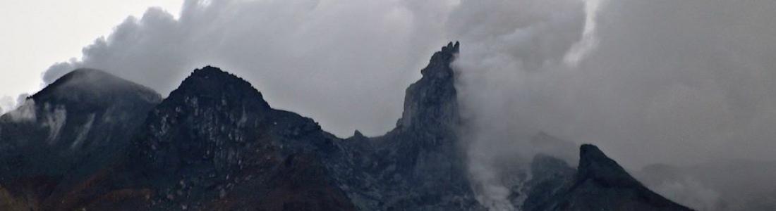 August 14, 2020. EN . Indonesia : Sinabung , Russia / Kurile Islands : Ebeko , Italy : Stromboli , Hawaii : Mauna Loa , El Salvador : San Miguel (Chaparrastique) .