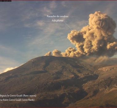 July 20 , 2015. English.  Eruption :  Special report , Nevado Del Ruiz.