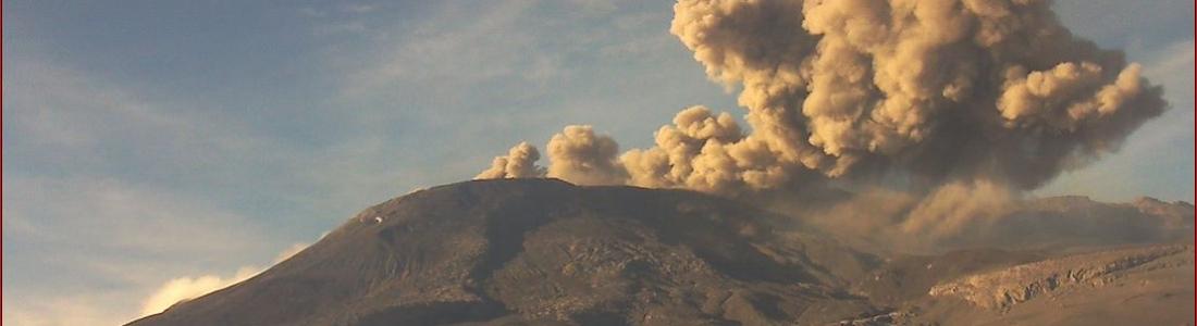 20/07/2015. Français . Bulletin spécial éruption : Nevado Del Ruiz.