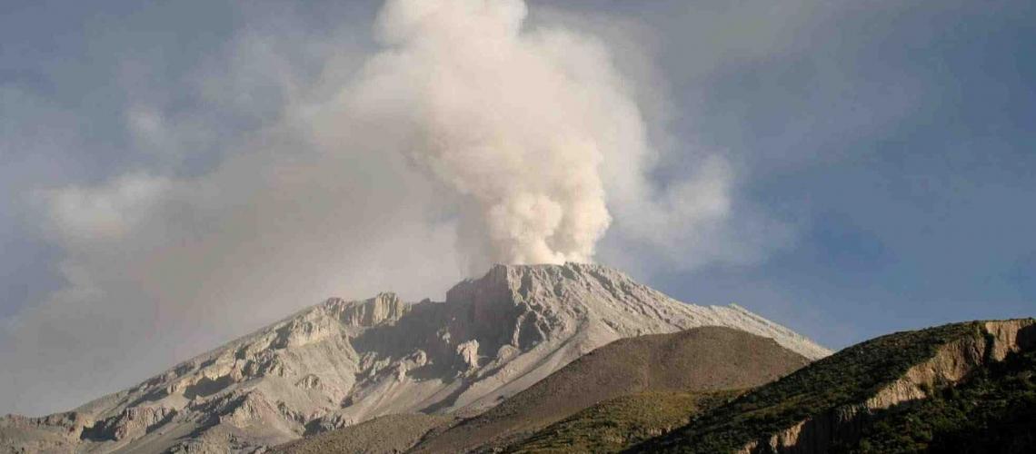 July 09 , 2019. EN. Peru : Sabancaya , Indonesia : Dukono , Guatemala : Santiaguito , Mexico : Popocatepetl , Guadeloupe : La Soufrière .