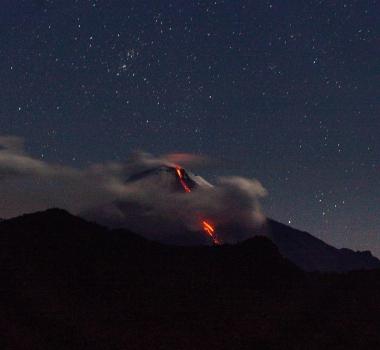 November 15, 2020. EN . Indonesia : Dukono , Ecuador : Sangay , Guatemala : Pacaya , Alaska : Korovin .