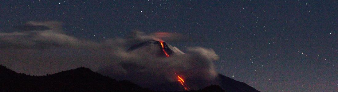 15 Novembre 2020. FR. Indonésie : Dukono , Equateur : Sangay , Guatemala : Pacaya , Alaska : Korovin .