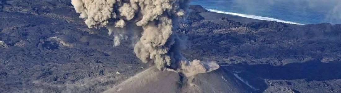 December 17, 2019. EN. New Zealand : White Island , Japan : Nishinoshima , Peru : Sabancaya , Kamchatka : Bezymyannyi , Peru : Ubinas .