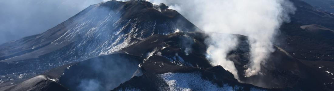 October 28, 2020. EN . Italy / Sicily : Etna , Iceland : Reykjanes Peninsula , Italy : Stromboli , Colombia : Nevado del Ruiz .