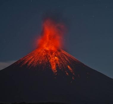 February 26, 2016. EN.  Nevado Del Ruiz , Momotombo , Masaya, Telica , San Cristobal , Sinabung , Bulusan.
