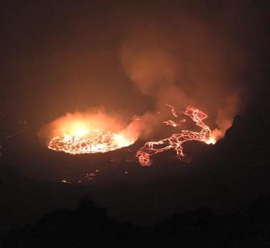 March 15, 2016. EN.  Nyiragongo , Popocatepetl, Karangetang , Klyuchevskoy.