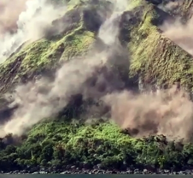October 24, 2019. EN. Fiji Archipelago / Kadavu Island : Nabukelevu , Kamchatka : Klyuchevskoy , Chile : Nevados of Chillan , Guatemala : Santiaguito .