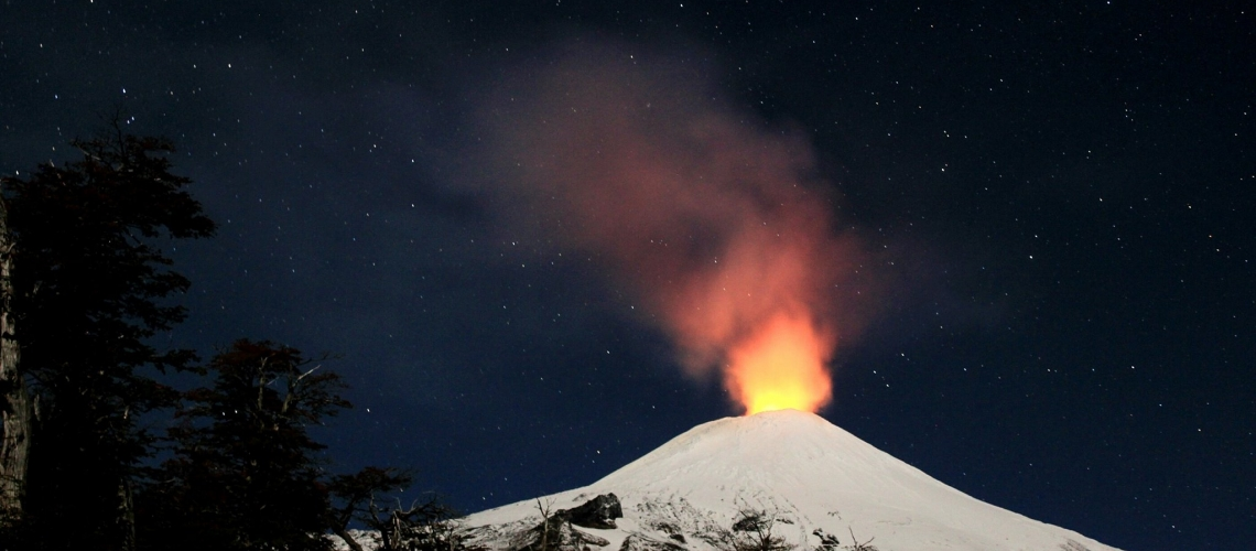 December 14 , 2018.  EN.  Chile : Villarica  , Colombia : Nevado del Ruiz , Guatemala : Pacaya , Costa Rica : Turrialba .