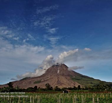 December 11, 2020. EN . Indonesia : Sinabung , Hawaii : Mauna Loa , Ecuador : Sangay , Guatemala : Pacaya , El Salvador : San Miguel (Chaparrastique) .