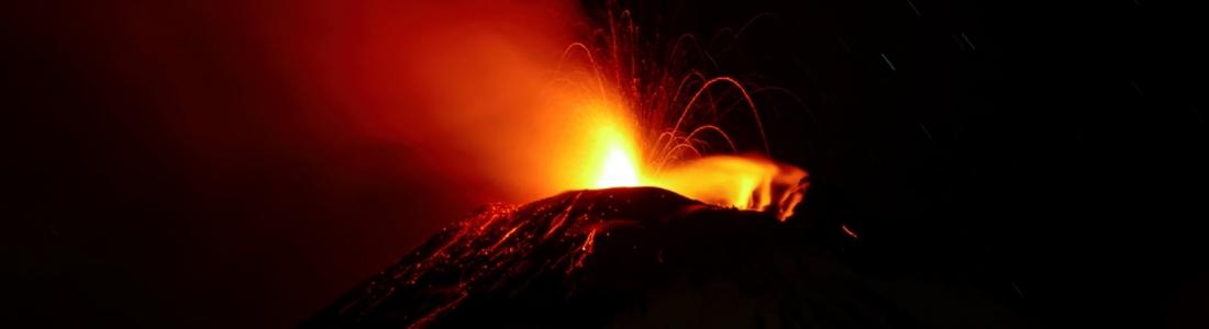16 Décembre 2020. FR . Italie / Sicile : Etna , Italie : Stromboli , Colombie : Nevado del Ruiz , Mexique : Popocatepetl .