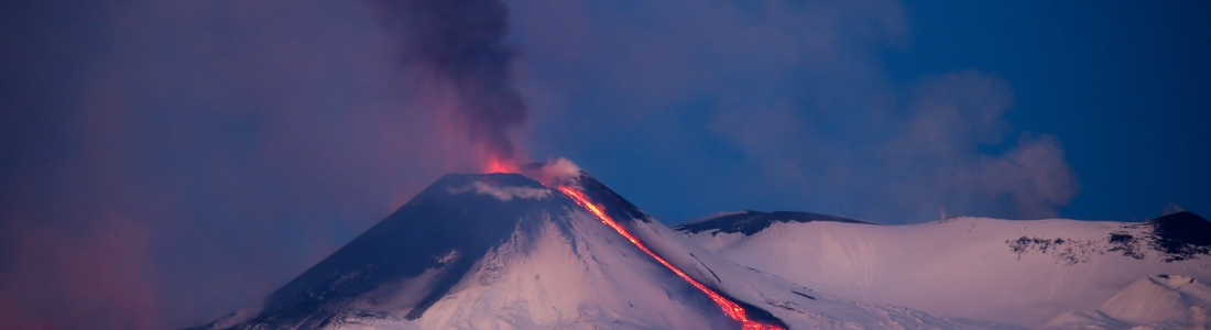 December 30, 2020. EN . Italy / Sicily : Etna , Hawaii : Kilauea , Kamchatka : Karymsky , New Zealand : White Island , Saint Vincent and the Grenadines : Soufrière .