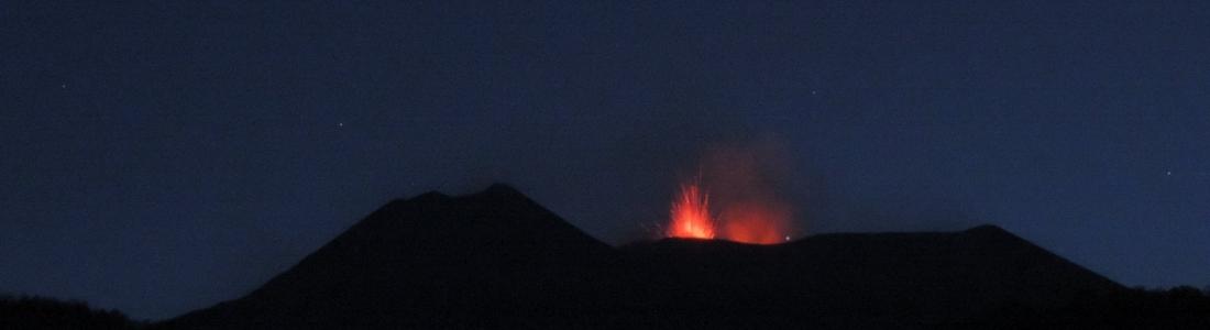 25/05/2016. FR. Kilauea , Etna , White Island , Copahue .