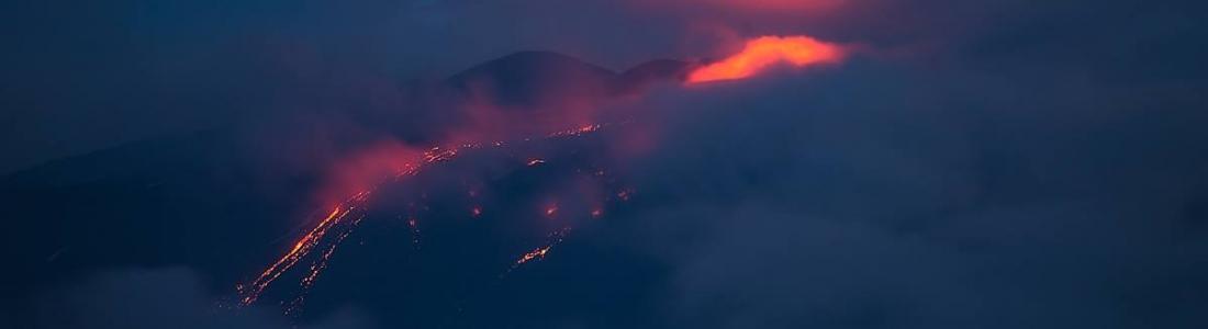 19/05/2016. FR. Etna ,  Kilauea , Telica , Momotombo , Masaya , San Cristobal , Sabancaya .