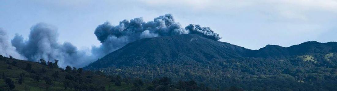 29/05/2016. FR. Turrialba , Tupungatito , Vanua Lava (Suretamatai) , Chaine des Cascades .