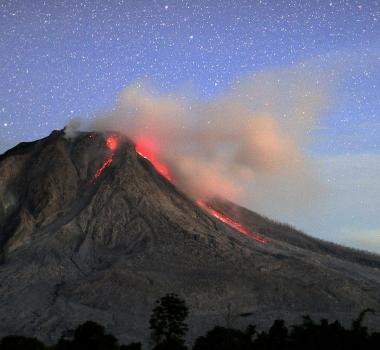 August 24, 2016. EN . Ambae Island , Sinabung , Poas , Nevado Del Ruiz .
