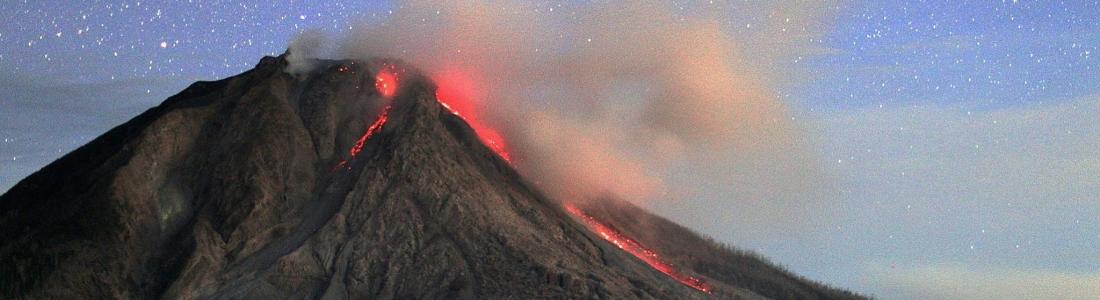 11/08/2016. FR. Klyuchevskoy , Fuego , Popocatepetl , Sinabung .