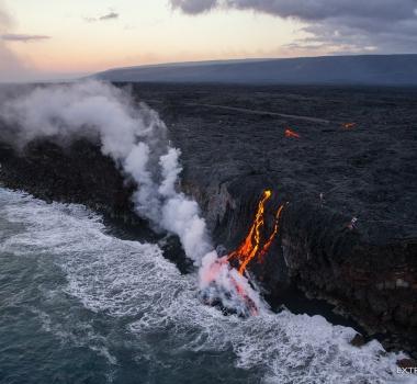 29/07/ 2016. FR.  Kilauea , Piton de la Fournaise , Pavlof , Fuego.