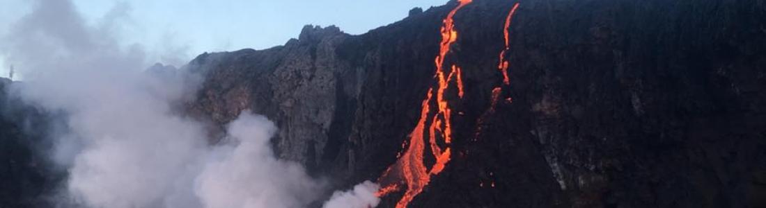 28/07/2016. FR. Chikurachki , Katla , Nevado del Ruiz , Mauna Loa , Kilauea.