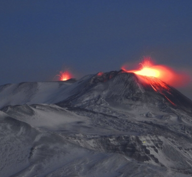 January 13, 2021. EN . Italy / Sicily : Etna , Italy : Stromboli , Colombia : Nevado del Ruiz , Ecuador : Sangay , Hawaii : Kilauea .