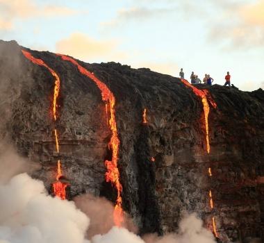 15/02/2017. FR. Piton de la Fournaise , Kilauea , Pacaya , Kanlaon .