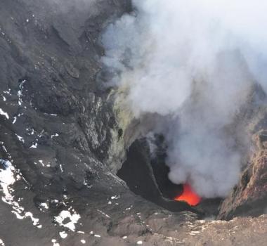 November 26, 2019. EN. Alaska : Shishaldin , Peru : Ubinas , Peru : Sabancaya , Chile : Nevados of Chillan , Indonesia : Anak Krakatau .