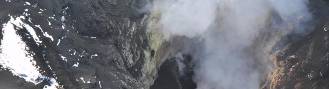 26 Novembre 2019. FR. Alaska : Shishaldin , Pérou : Ubinas , Pérou ; Sabancaya , Chili : Nevados de Chillan , Indonésie : Anak Krakatau .