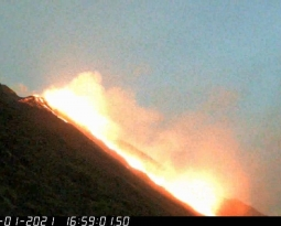 January 23, 2021. EN . Italy : Stromboli , Indonesia : Merapi , Chile , Nevados of Chillan , Guatemala : Pacaya .