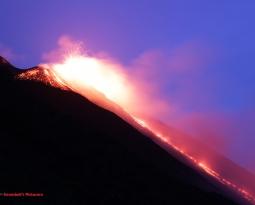 January 26, 2021. EN . Italy : Stromboli , Peru : Sabancaya , Kamchatka : Klyuchevskoy , Indonesia : Merapi .