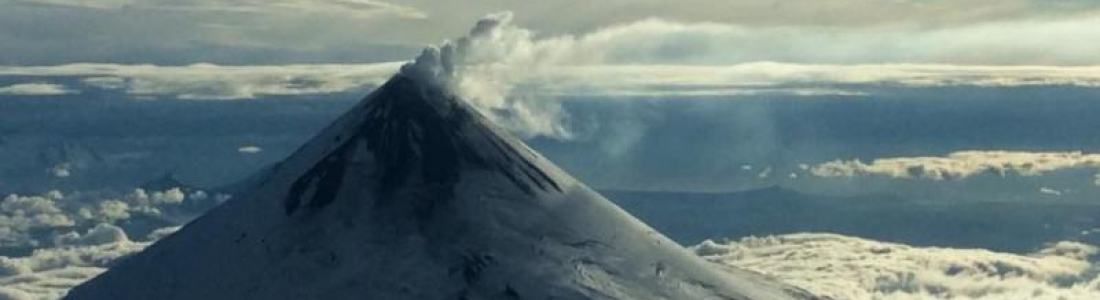 07 Décembre 2017. Agung , Nevados de Chillan , Shishaldin , Ambae .