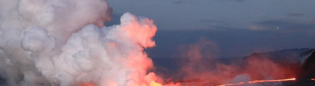 13/10/2016. FR. Kilauea , Nevado Del Ruiz , Turrialba , Fuego .