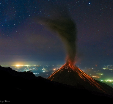 July 18 , 2016.  EN . Turrialba , Fuego , Popocatepetl, Mauna Loa .