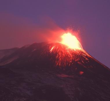 February 16, 2021. EN . Italy / Sicily : Etna , Philippines : Taal , Indonesia : Merapi , Peru : Sabancaya , Guatemala : Fuego .