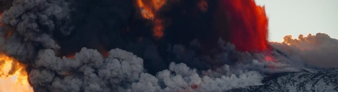 February 18, 2021. EN . Italy / Sicily : Etna , Colombia : Nevado del Ruiz , Philippines : Kanlaon , Saint Vincent : Soufrière Saint Vincent .