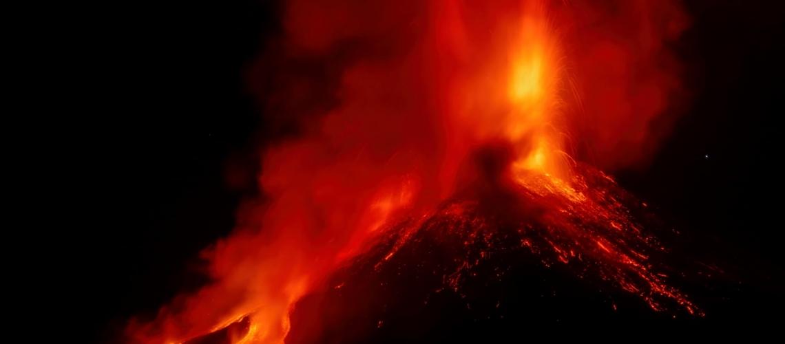 February 22, 2021. EN . Italy / Sicily : Etna , Philippines : Kanlaon , Guatemala : Pacaya , Chile : Nevados of Chillan , El Salvador : San Miguel (Chaparrastique) .