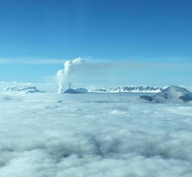 October 20 ,  2018.  EN.   Alaska : Véniaminof , La Réunion : Piton de la Fournaise , Chile : Osorno , Indonesia : Anak Krakatau .